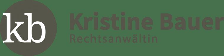 Rechtsamwältin Kristine Bauer Logo